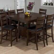 <strong>Jofran</strong> Taylor 7 Piece Counter Height Dining Set