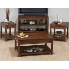 <strong>Jofran</strong> Bowie Birch Coffee Table Set