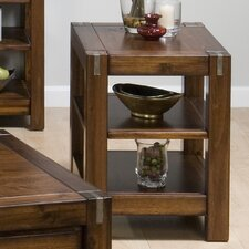 Rustic Loft Chairside Table