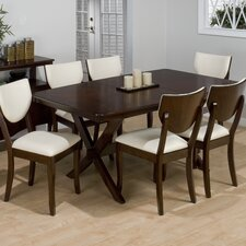 Satin 7 Piece Dining Set