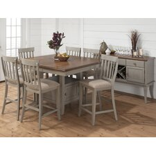 Pottersville 7 Piece Counter Height Dining Set