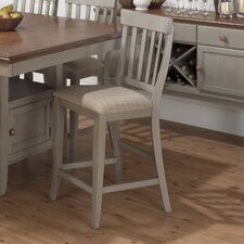 Pottersville Slat Back Stool