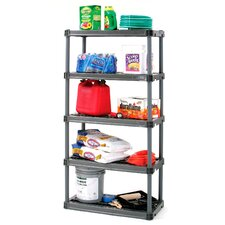 "73.75"" H 4 Shelf Shelving Unit Starter"