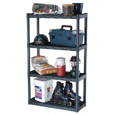 "56.25"" H 4 Shelf Shelving Unit"