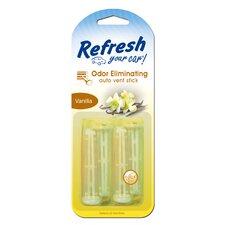 Refresh Your Car Vanilla Vent Odor Eliminator - 4 per Case
