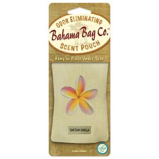 Bahama Bag Tahitian Vanilla Odor Eliminating Scent Pouch