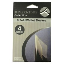 Bi-Fold Wallet Sleeves (Set of 4)