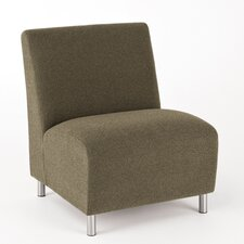 <strong>Lesro</strong> Ravenna Series Lounge Chair with Casters