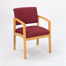 <strong>Lesro</strong> Lenox Guest Chair with Wood Leg