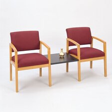 Lenox Two Chairs with Connecting Table
