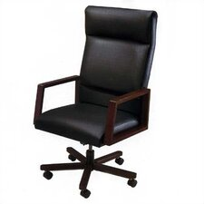 <strong>Lesro</strong> Bristol Series High-Back Office Chair with Arms