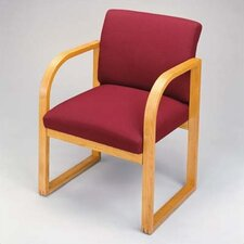 <strong>Lesro</strong> Contour Guest Chair with Full Back