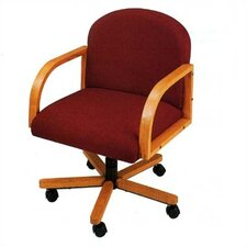 <strong>Lesro</strong> Contour Series Low-Back Office Armchair