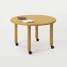 "<strong>Lesro</strong> Contemporary Series 42""  Round Gathering Table (4 post base)"