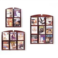 <strong>Lesro</strong> Traditional Series Pocket Literature Rack