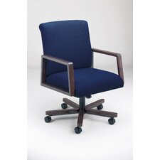 <strong>Lesro</strong> Bristol Series Low-Back Guest Chair with Arms
