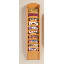 Transitional Series Pocket Magazine Rack