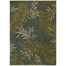 Home Nylon Florist Greens Rug