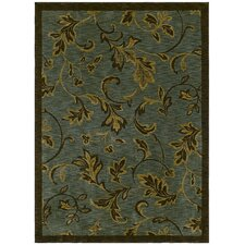 Home Nylon Garden Gate Ocean Rug