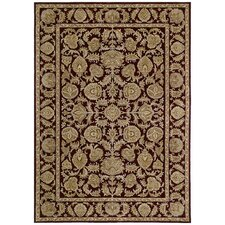 Home Nylon Cranberry Tropical Isle Rug