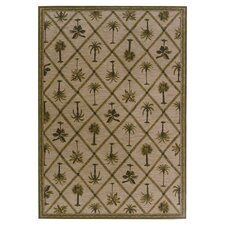 Tommy Bahama Nylon Palms Away Novelty Rug