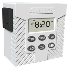 Single Outlet Weekly Digital Timer