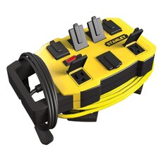 7 Outlet Outrigger Power Station with Cord