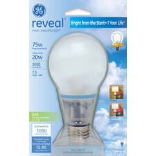 20W Reveal Compact Fluorescent Light Bulb