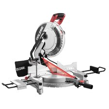 "12"" Compound Miter Saw with Quick-Mount"