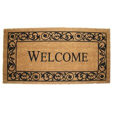 Wrought Iron Welcome Doormat