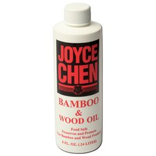 8 Oz Bamboo and Wood Oil