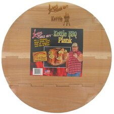 Larry The Cable Guy Cedar Kettle BBQ Plank