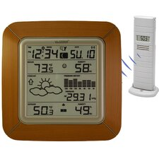 Wireless Forecast Station Wall Clock