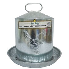 Metal Wall Chicken Water Fountain