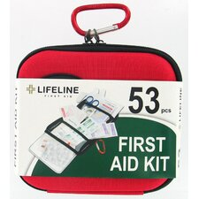 <strong>Lifeline First Aid</strong> 53 Piece Medium First Aid Kit