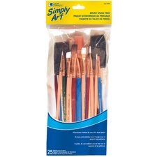 25 Piece Brush Value Pack