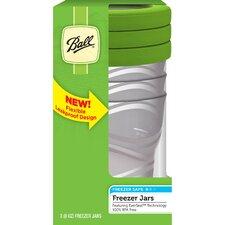 8 Oz. Plastic Freezer Jar (Set of 3)
