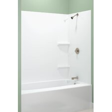 <strong>Masco Bath</strong> 5 Piece Tempo Tub Wall