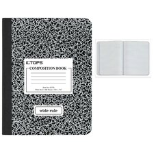 <strong>Moore Wallace Na Dba Tops</strong> Wide Ruled Classic Composition Notebook