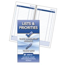 Lists and Priorities Journal