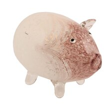 Pacific Accents Penelope The Pig Glass Votive