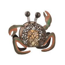 Pacific Accents Beach Comber Crab Votive