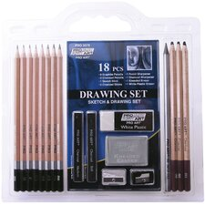 2 Ounce Pro Art Drawing (Set of 18)