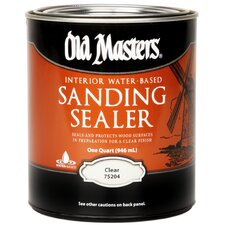 1 Quart Water Based Sanding Sealer