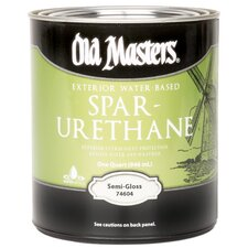 Water Based Spar Urethane Semi Gloss
