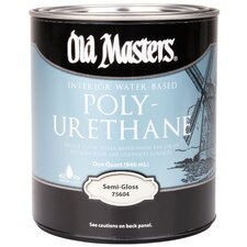 <strong>Old Masters</strong> Water Based Polyurethane Semi Gloss