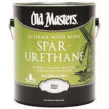 1 Gallon Water Based Spar Urethane Gloss