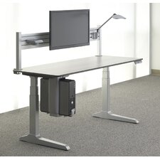 "Sierra HX 72"" x 24"" Electric Height Adjustable Standing Desk"