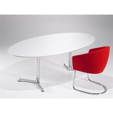 <strong>Artifort</strong> Casus Oval Conference Table by Toine van den Heuvel