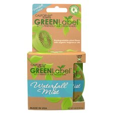 <strong>California Scents</strong> Waterfall Mist Green Label Eco Friendly Air Freshener (Set of 2)